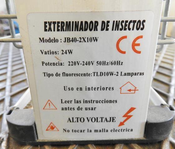 Exterminador de insectos