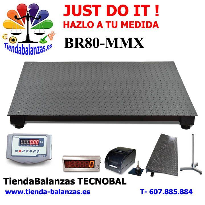 BR80-MMX de 800x800 hasta 2000x1500 300, 600, 1500y 3000Kg JUST DO IT.