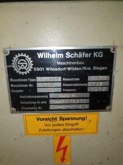 Schaffer SRM hy Hydraulic 3 roll plate bender 3000 x 20 mm 4440 = Mach4metal