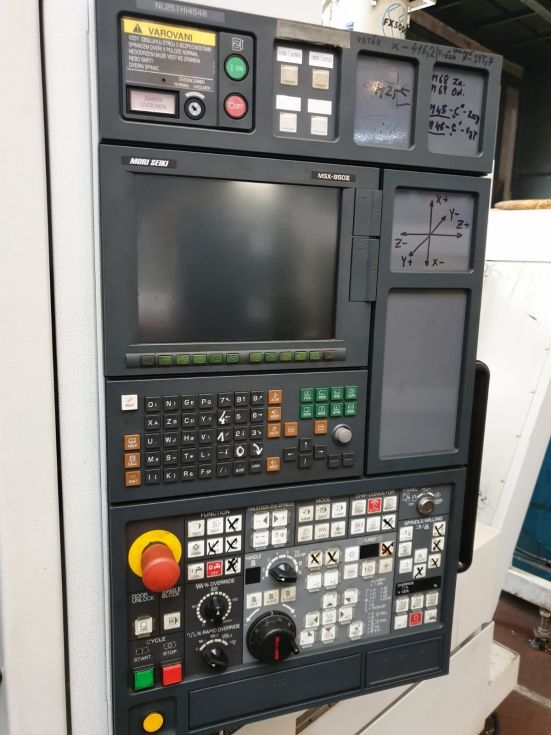 Mori Seiki NL 2500 Y Ø 923 x 1250 mm 4462 = Mach4metal
