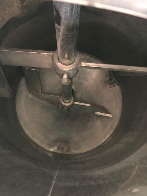 Depósito en acero inoxidable de 100 Litros con agitación