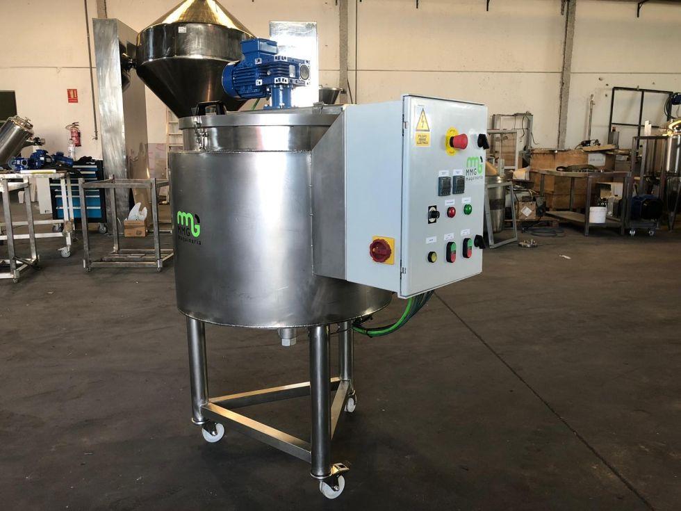 Depósito cuece cremas 200 litros en acero inoxidable NUEVO