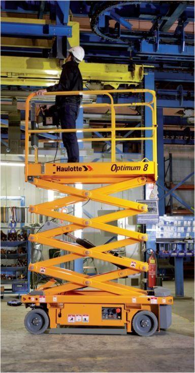 Plataforma de Tijera Eléctrica 8 mts
