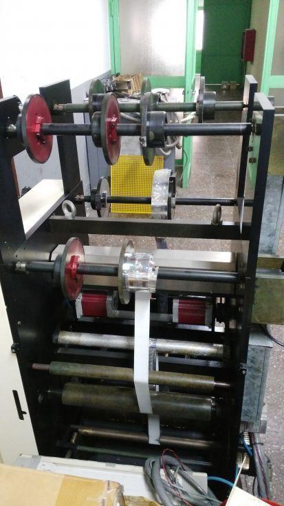 Máquina de impresión hologramas y estampación