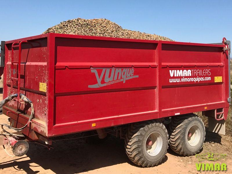 Remolque agrícola basculante 10.000kg