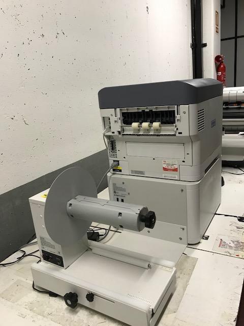 Impresora etiquetas en bobina