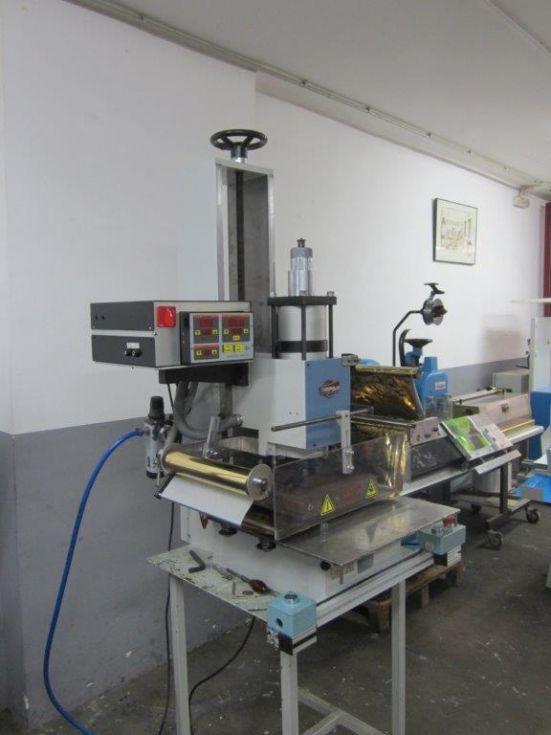 prensa de termoimpresión