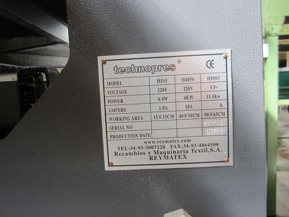 Prensa térmica para transfer sublimación