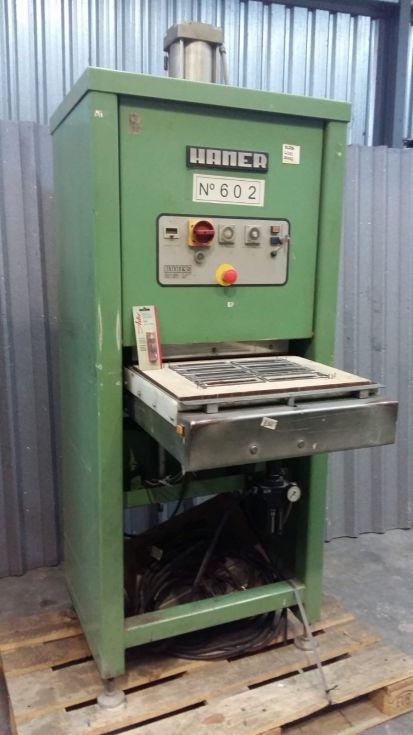 Máquina para el termosellado de Blister con cartón