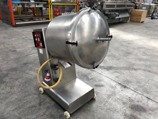Bombo de maceración con vacío capacidad 150 litros en acero inoxidable