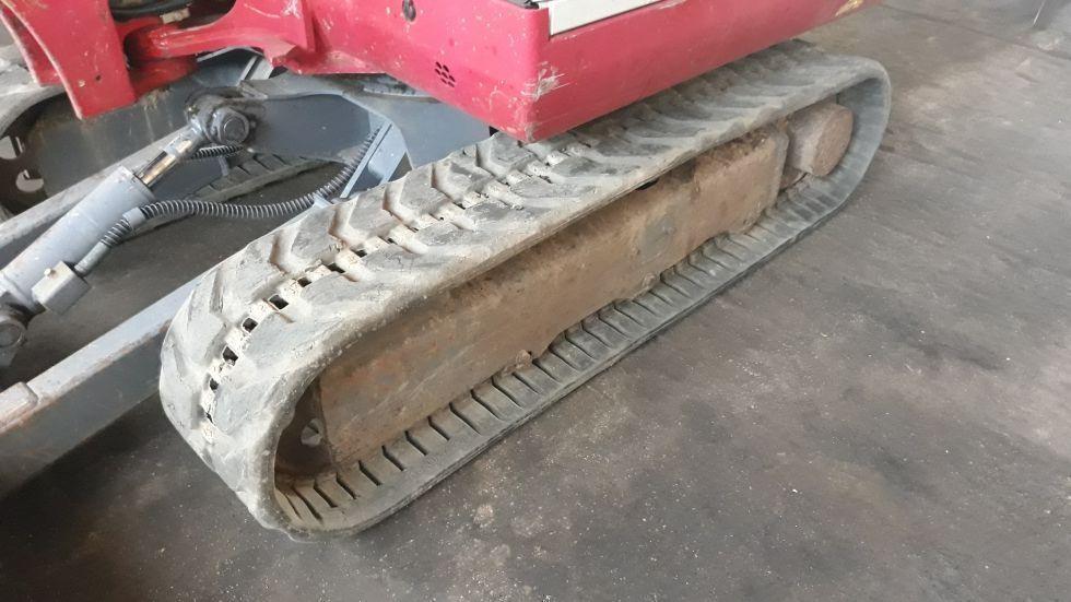 mini excavadora de orugas de goma