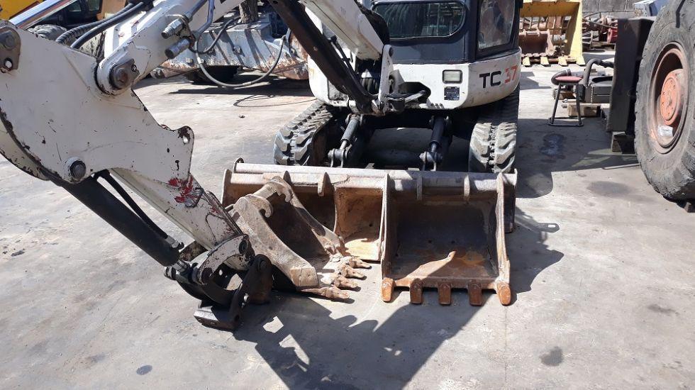 mini excavadora de cadenas