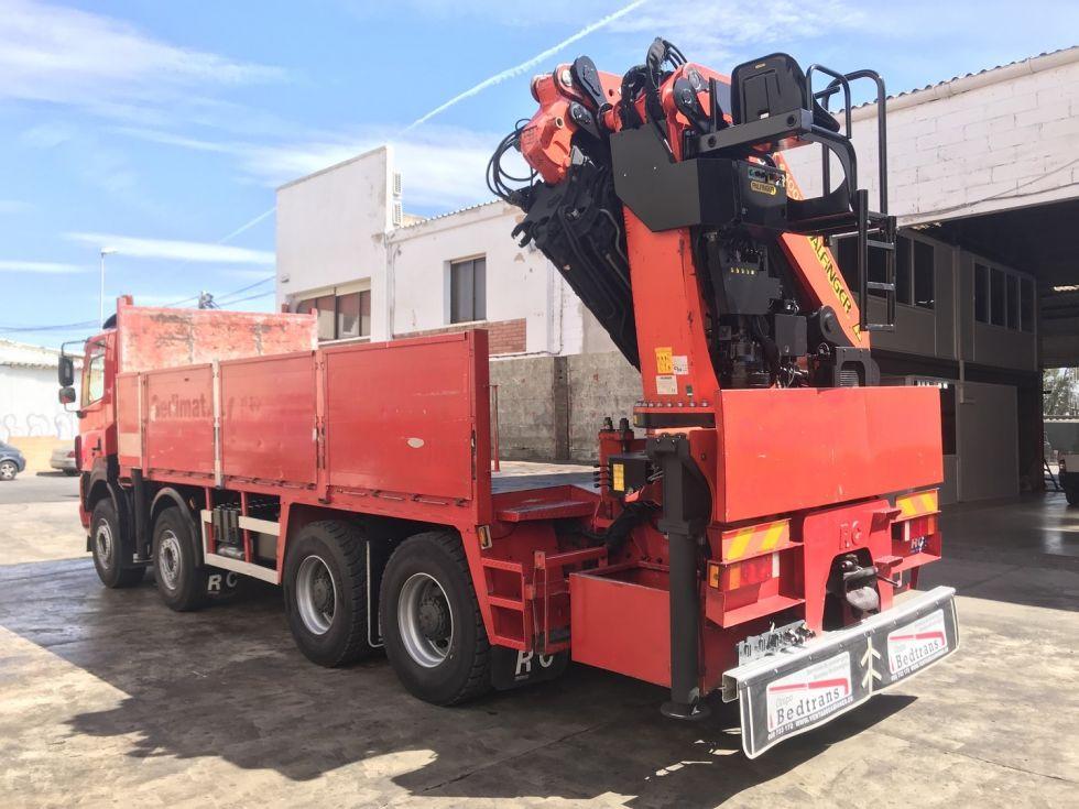 Camion grua Daf Cf 85 Palfinger Pk 44002 + Jib