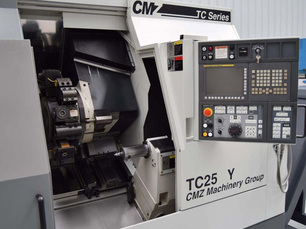 Torno CNC CMZ TC-25Y 800