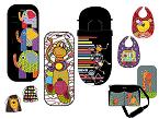 T&T Baby and Kids, de Tris & Tron es una nueva colección compuesta por productos para el paseo y el cuidado del bebé: sacos de paseo, colchonetas para sillas, bolsas maternales, baberos, mantas, bufandas, etc.
