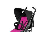 Cybex Black, distribuida por Millenium Baby, es una colección especial de la marca para sus Callisto Topaz y Onyx Plus, con un look negro sobre negro y colchonetas en rosa, azul o gris.
