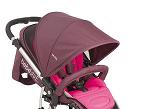 Hakka, de Bebé Due, está homologada a partir de 0 meses, versátil y de fácil plegado. Se le adapta la silla auto del Grupo 0+ (que está incluido).