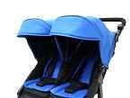 Easy Twin, de Baby Monsters (Lil Ones) es una silla gemelar de fácil plegado desde la parte superior. Hay posibilidad de colocar dos Grupos 0. 65 cm. de ancho.