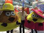 CPC: Julien Barbier, de Consumer Product Connection, junto a la propiedad estrella de su catálogo, la aplicación Pou