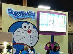 La japonesa Doraemon: una muestra de que en Las Vegas se dan cita marcas de todo el mundo