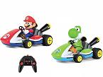Carrera RC Mario y Yoshi, de CARRERA