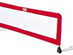 La barrera de cama de Saro es de fácil colocación y se puede abatir hacia abajo. Se pliega e incluye una bolsa de transporte.