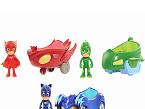 Vehículos PJ Masks, de BANDAI