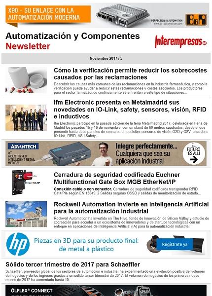 Automatización y Componentes