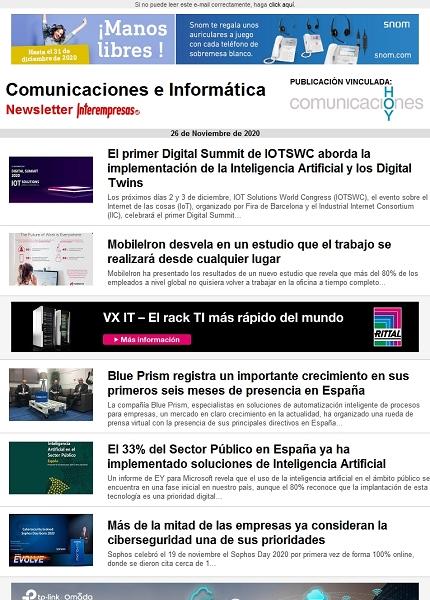 Comunicaciones e Informática
