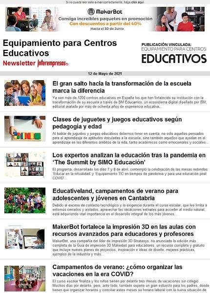 Equipamiento para Centros Educativos