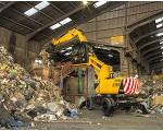 Fotografía de Manipuladora de materiales para el sector residuos JCB JS20MH