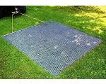 Fotografía de Alfombras metálicas ligeras para campos deportivos Keystone 835402