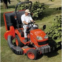 Tractores subcompactos para jardinería