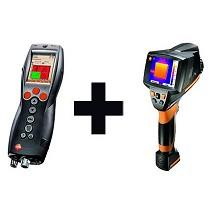 Kit de cámara termográfica y medidor del valor U