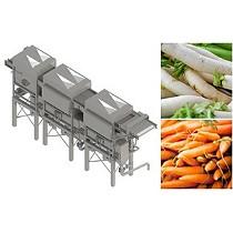 Líneas de lavado de verduras