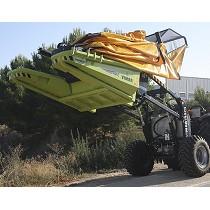 Recolector para tractores fruteros
