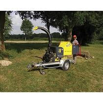 Trituradoras para ramas con motor autónomo