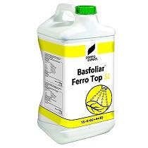 Fertilizante líquido concentrado con nitrógeno y hierro