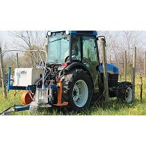 Máquina para la destrucción de las malas hierbas
