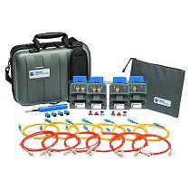 Kit de fibra óptica monomodo láser y multimodo led