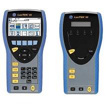 Certificador de redes Lan y fibra óptica hasta Cat7 con wifi y adaptador PL