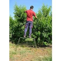 Escaleras trineo fija para cosecha