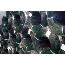 Alambres galvanizados y plastificados