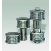 Toberas filtrantes de acero inoxidable AISI 316