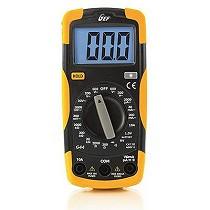 Multímetro digital escalas manuales