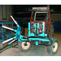Barredora hidráulica acoplable a tractor