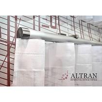 Rieles decorativos redondos de aluminio