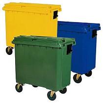 Contenedor basurero de 770 litros