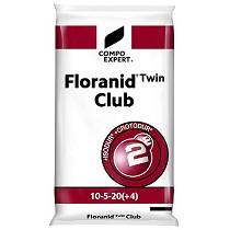 Abono complejo NPK (Mg-S) 10-5-20 (4-20) Compo Floranid Twin Club