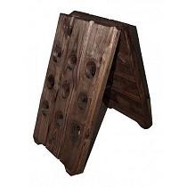 Pupitres de madera
